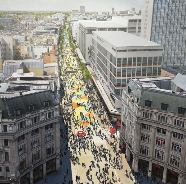 The photo for Oxford Street Transformation - 2nd consultation.