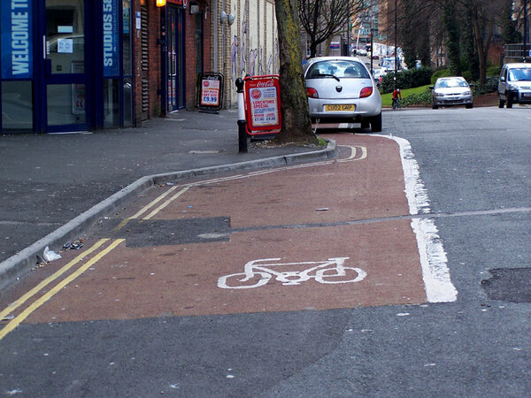 The photo for Unsatisfactory Dighton Street Cycle Lane (& Enforcement).